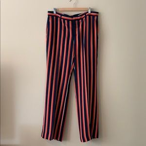 Banana Republic striped pants